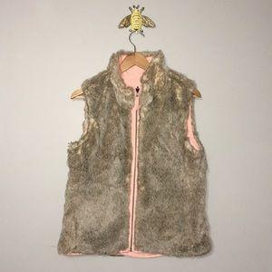 GAP Reversible Fur Vest